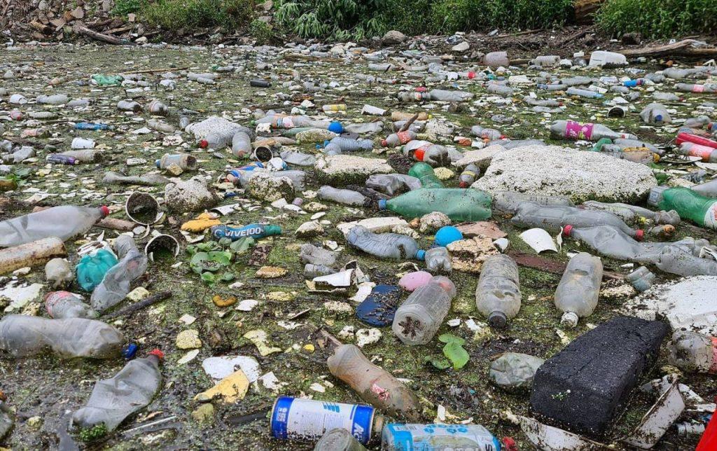 Limpieza de basura Presa Madin | 30 de junio